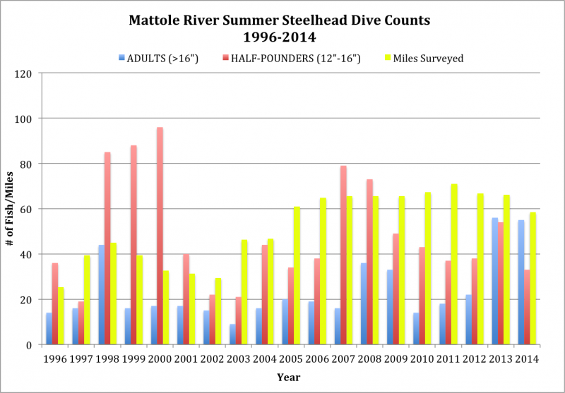 Mattole-River-Summer-Steelhead-Dive-Counts-1996-2014